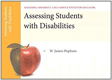 Assessing Students with Disabilities 9780132734899