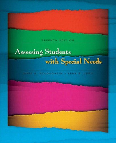 Assessing Students with Special Needs 9780131961913