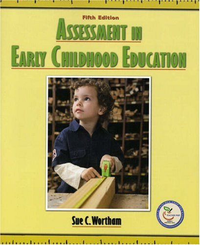 Assessment in Early Childhood Education 9780132329149