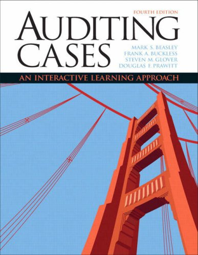 Auditing Cases: An Interactive Learning Approach 9780132423502