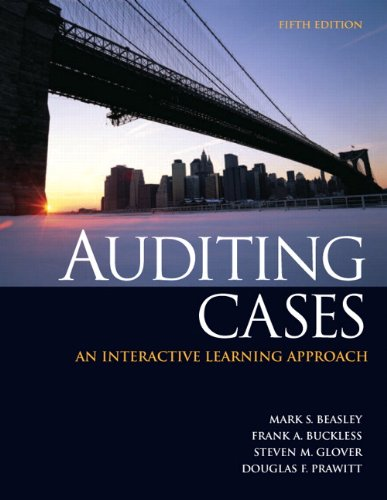 Auditing Cases: An Interactive Learning Approach 9780132567237