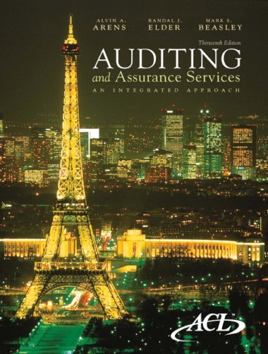 Auditing and Assurance Services: An Integrated Approach [With CDROM] 9780136084730