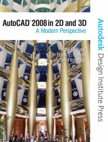 AutoCAD 2008 in 2D and 3D: A Modern Perspective 9780135143735