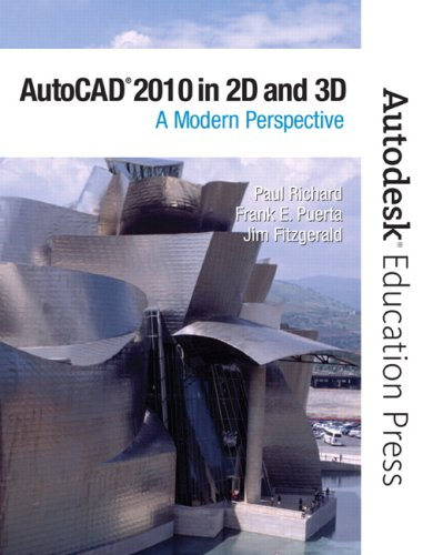 AutoCAD 2010 in 2D and 3D: A Modern Perspective 9780135079317