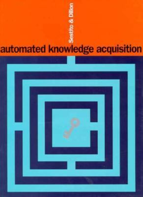 Automated Knowledge Acquisition 9780133011364