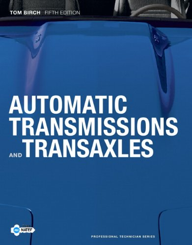 Automatic Transmissions and Transaxles 9780132622271