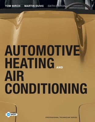 Automotive Heating and Air Conditioning 9780132551533