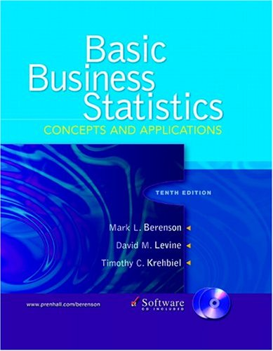 Basic Business Statistics: Concepts and Applications and CD Package 9780131678316