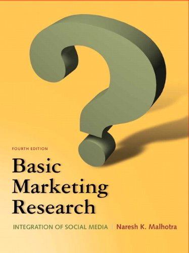 Basic Marketing Research 9780132544481