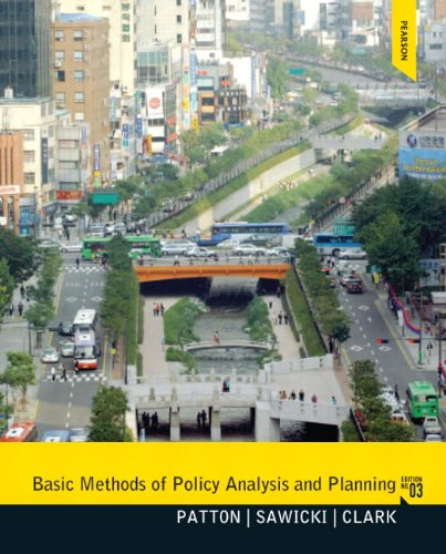 Basic Methods of Policy Analysis and Planning - 3rd Edition