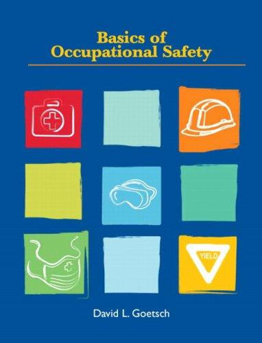 Basics of Occupational Safety 9780135026137