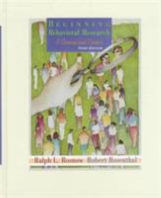 Beginning Behavioral Research: A Conceptual Primer 9780137915422