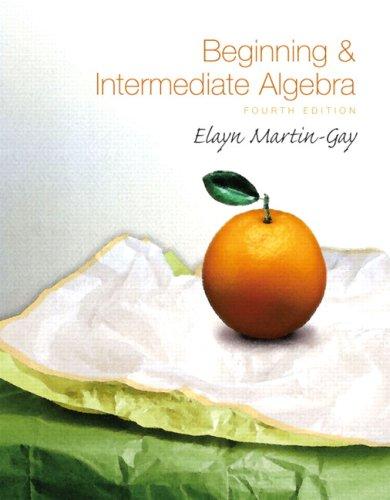 Algebra beginning gay intermediate martin