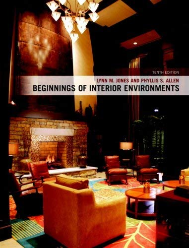 Beginnings of Interior Environments 9780135008140