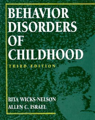 Behavior Disorders of Childhood 9780133968705