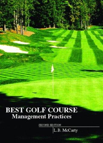 Best Golf Course Management Practices 9780131397934