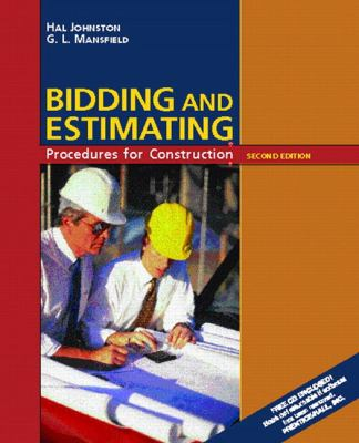 Bidding and Estimating Procedures for Construction 9780130821973