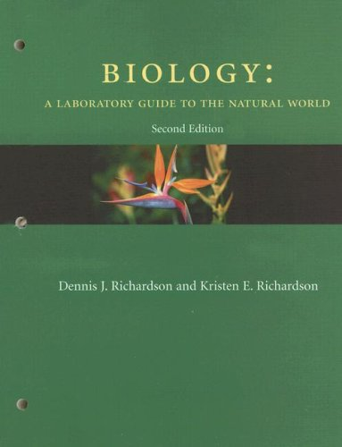 Biology: A Laboratory Guide to the Natural World 9780131449350