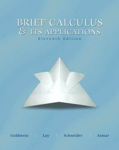 Brief Calculus and Its Applications - 11th Edition