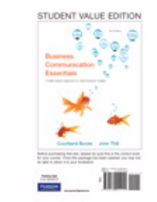 Business Communication Essentials, Student Value Edition 9780132551441