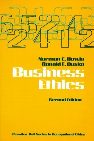 Business Ethics 9780130959102