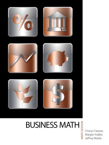 Business Math 9780135108178