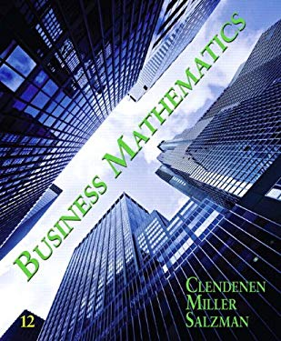 Business Mathematics [With Access Code] 9780132605540