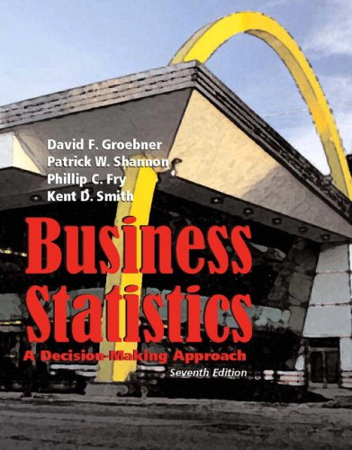Business Statistics: A Decision Making Approach 9780132240017