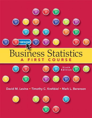 Business Statistics: A First Course 9780132807265
