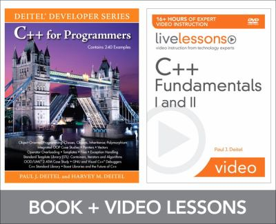 C++ Fundamentals I and II Livelesson Bundle [With DVD] 9780137018239