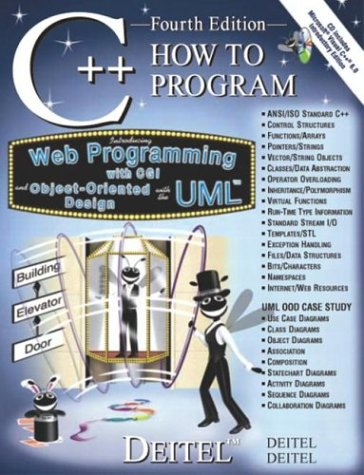 C++ How to Program [With CD-ROM] 9780130384744