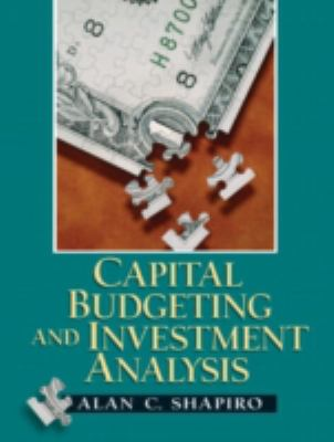 Capital Budgeting and Investment Analysis 9780130660909
