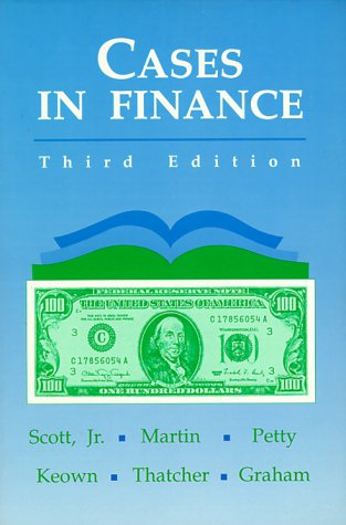 Cases in Finance 9780131179950