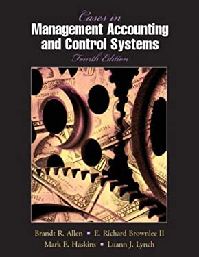 Cases in Management Accounting and Control Systems 9780135704257