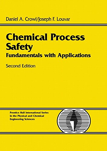Chemical Process Safety: Fundamentals with Applications 9780130181763