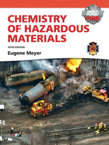 Chemistry of Hazardous Materials [With Access Code] 9780135041598