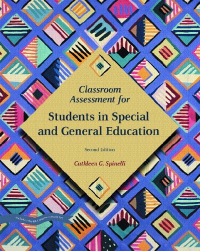 Classroom Assessment for Students in Special and General Education 9780131193536