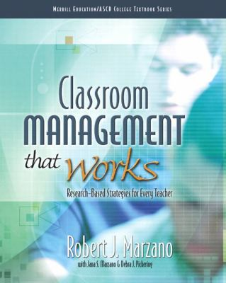 Classroom Management That Works: Research-Based Strategies for Every Teacher 9780135035832