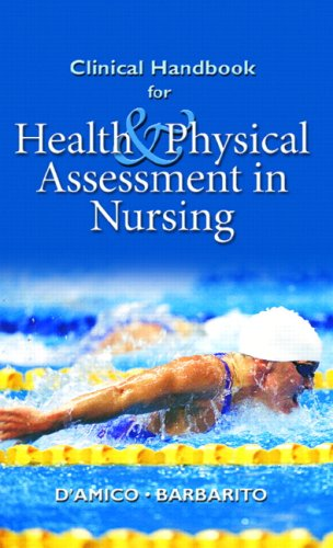 Clinical Handbook for Health & Physical Assessment in Nursing 9780130494788