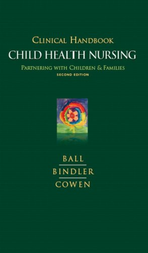 Clinical Handbook for Pediatric Nursing 9780135005064