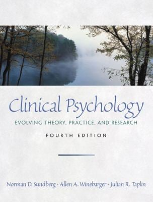 Clinical Psychology: Evolving Theory, Practice, and Research 9780130871190