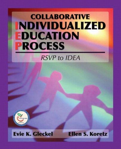 Collaborative Individualized Education Process: RSVP to IDEA