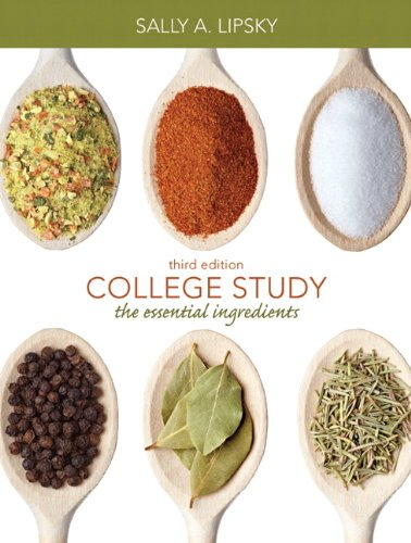 College Study: The Essential Ingredients 9780132180894