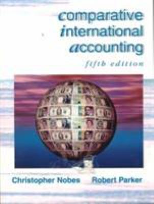 Comparative International Accounting 9780137364633
