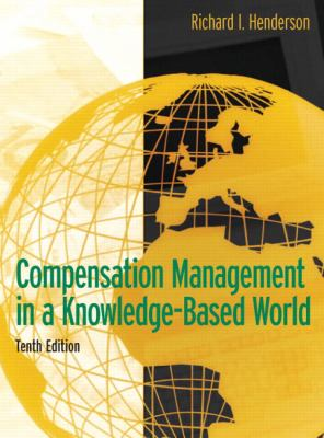 Compensation Management in a Knowledge-Based World 9780131494794