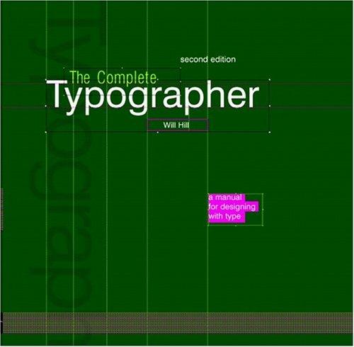 Complete Typographer 9780131344457