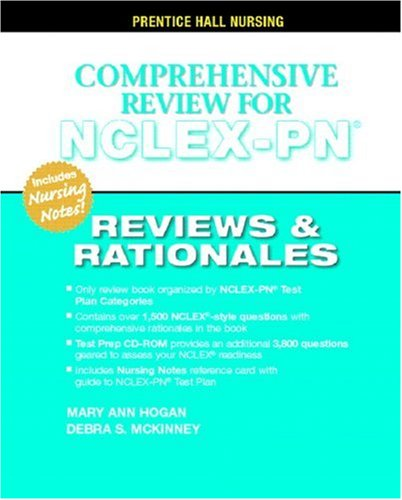 Comprehensive Review for NCLEX-PN: Reviews and Rationales [With CDROM] 9780131196056