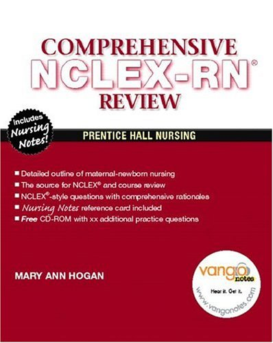 Comprehensive Review for NCLEX-RN: Reviews & Rationales [With CDROM] 9780131195998