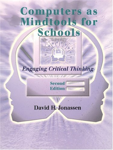 Comptuers as Mindtools for Schools: Engaging Critical Thinking 9780130807090
