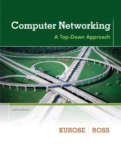 Computer Networking: A Top-Down Approach 9780132856201